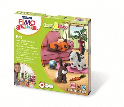 Fimo kids form & play pet.