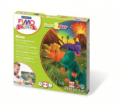 Fimo kids form & play dino.