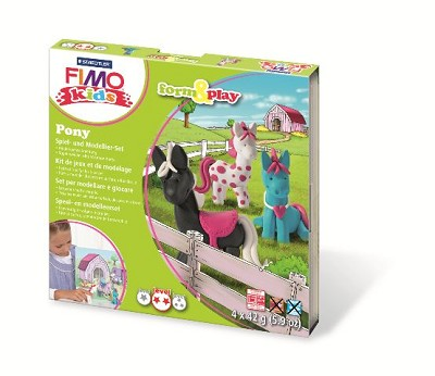 Fimo kids form & play pony.