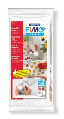 Fimo air klei 500 gram wit.