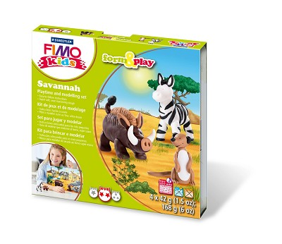 Fimo kids form & play savanne.