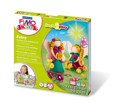 Fimo kids form & play elfjes.