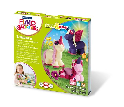 Fimo kids form & play eenhoorn.