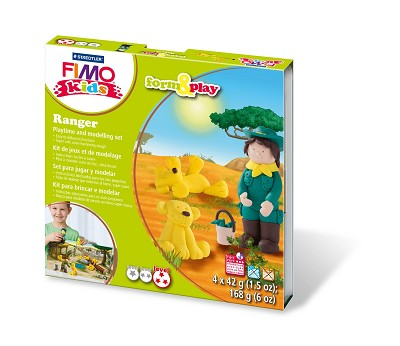 Fimo kids form & play ranger.