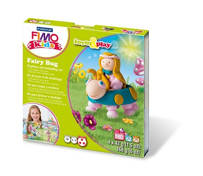 Fimo kids form & play fairy bug.